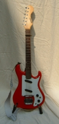 1960's Watkins Rapier 22. Customised with Strat pickups and a Gibson bridge